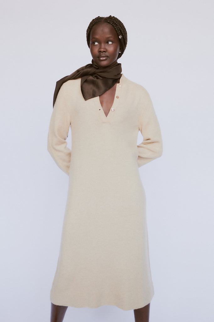 Vintage Halston Cashmere Dress
