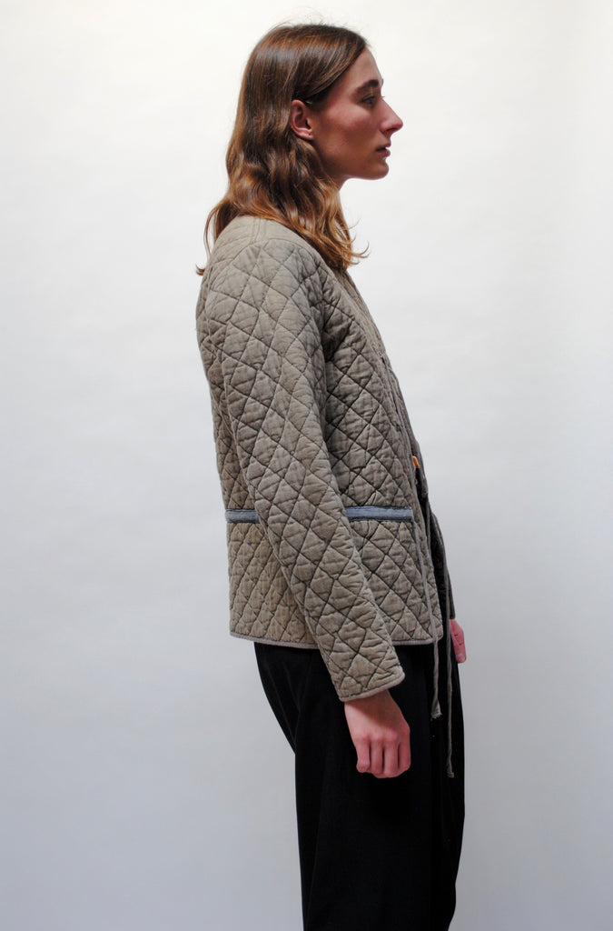 Vintage Cotton Quilted Jacket