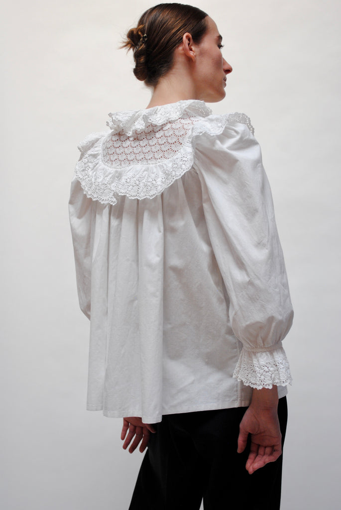 Antique Eyelet Blouse