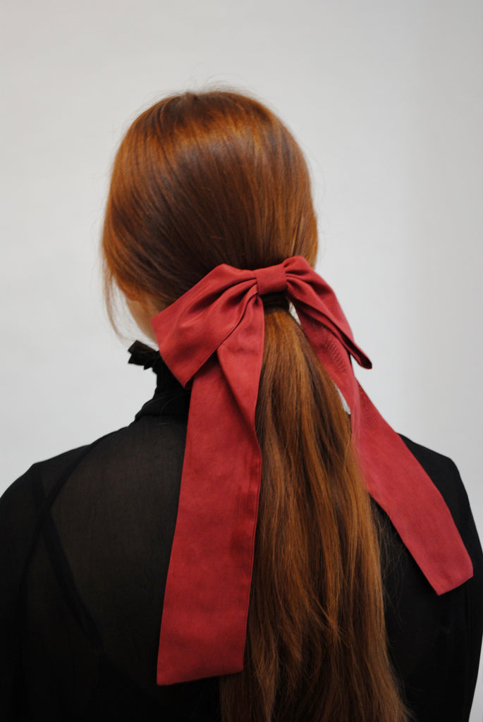 Long Tail Hair Bow