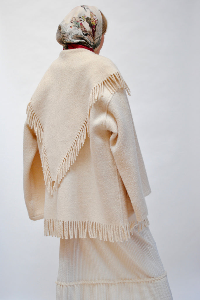 Winter Fringe Coat
