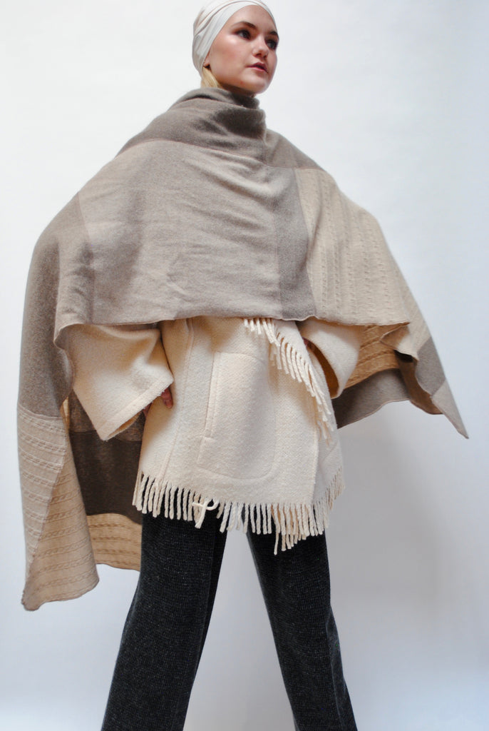 SCOUT Cashmere Scarf - Oat