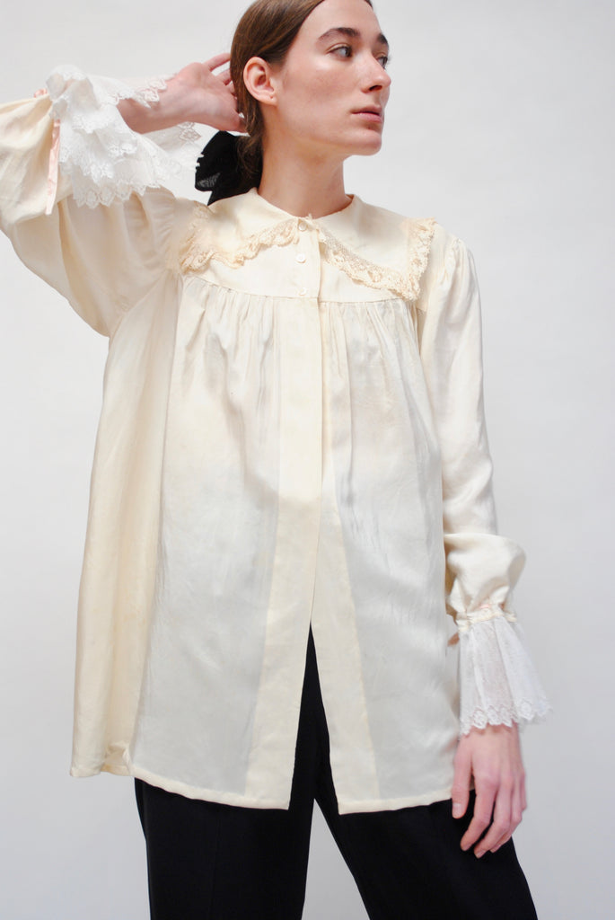 Antique Silk Blouse