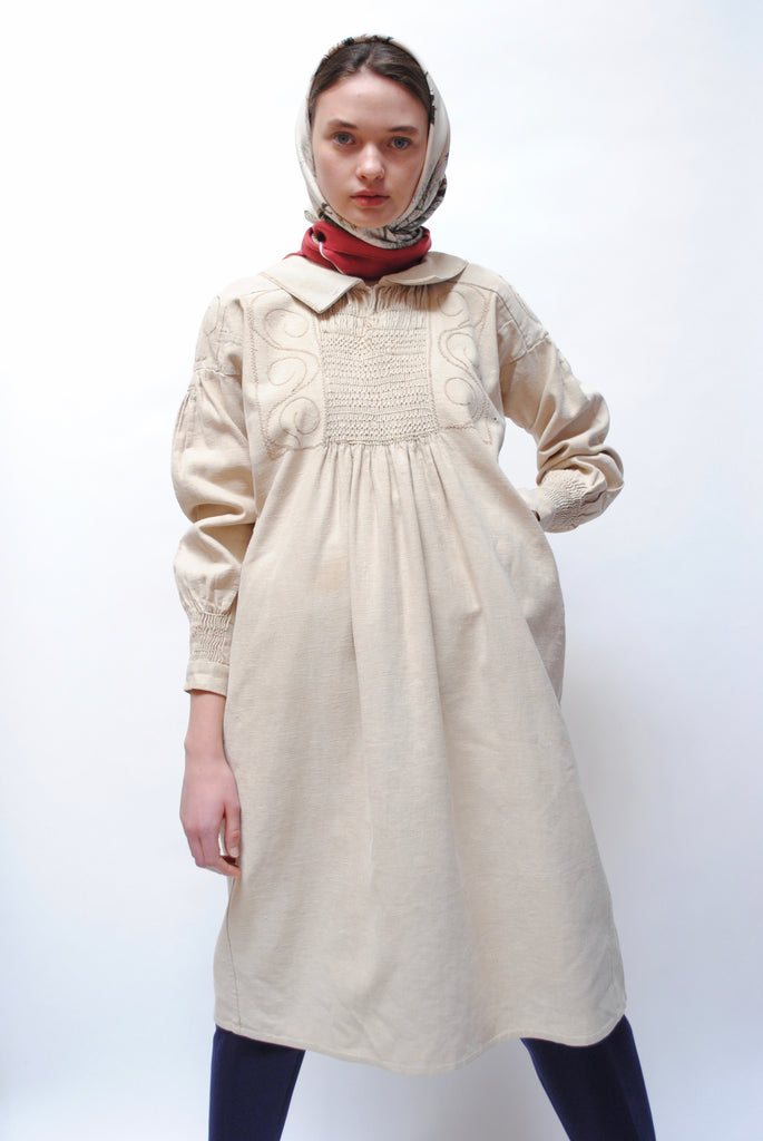 Antique French Shepards Smock