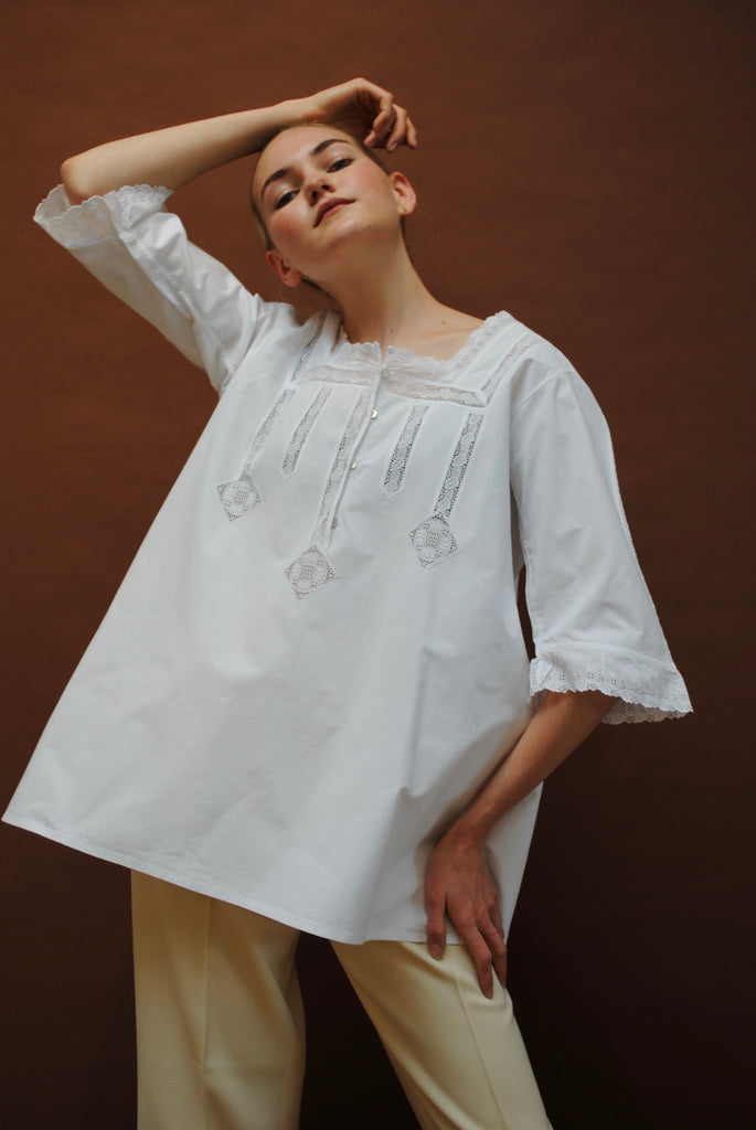 Embroidered Antique Blouse