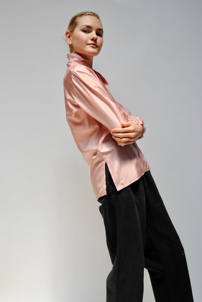 1940s Pink Blouse