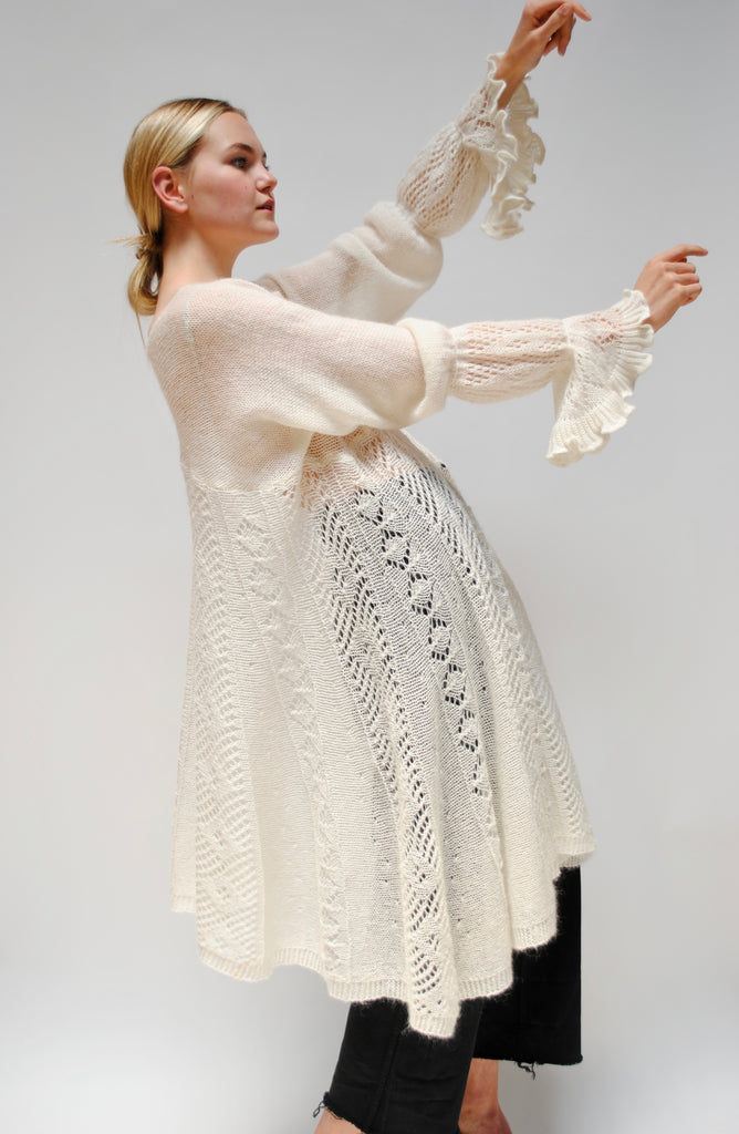 Knitted Mohair Tunic