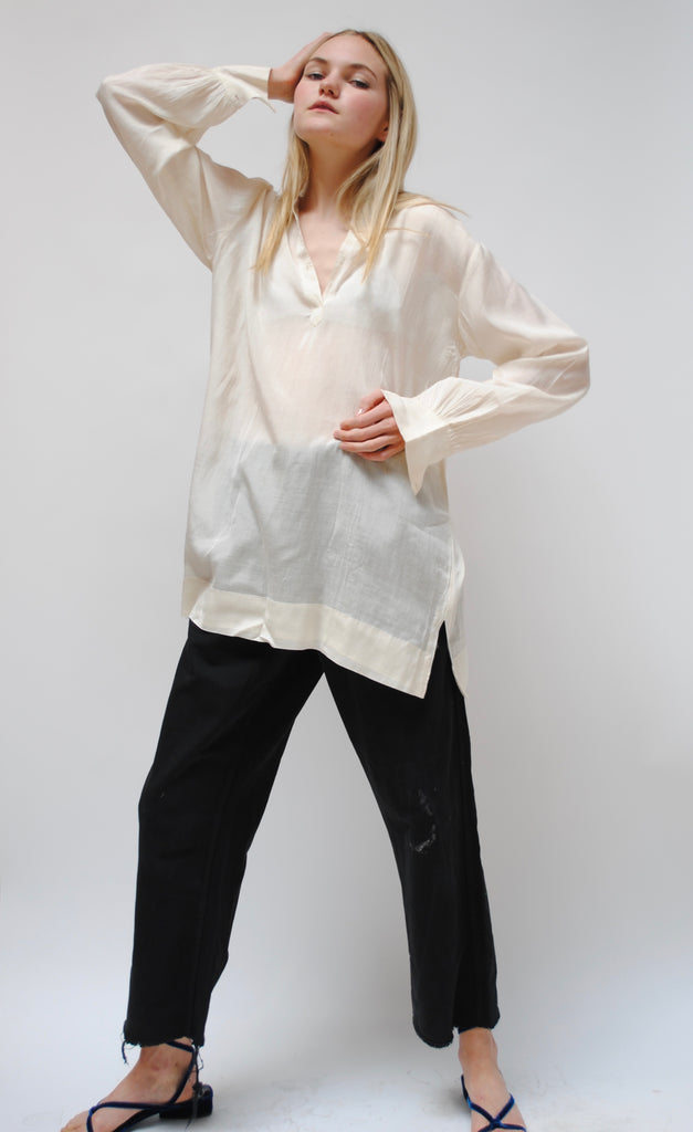 Vintage Silk & Cotton Tunic