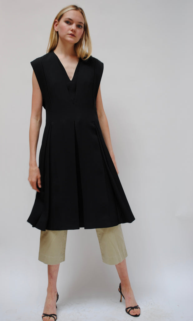 Céline Black Day Dress
