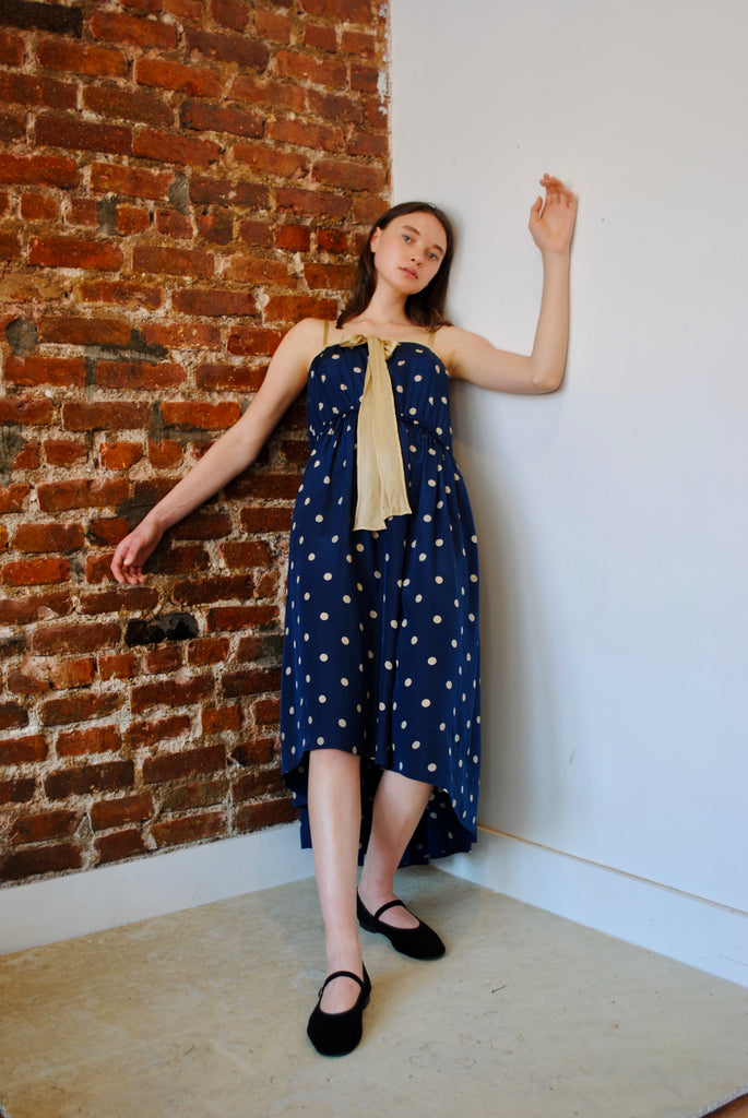 Antique Dotted Sun Dress