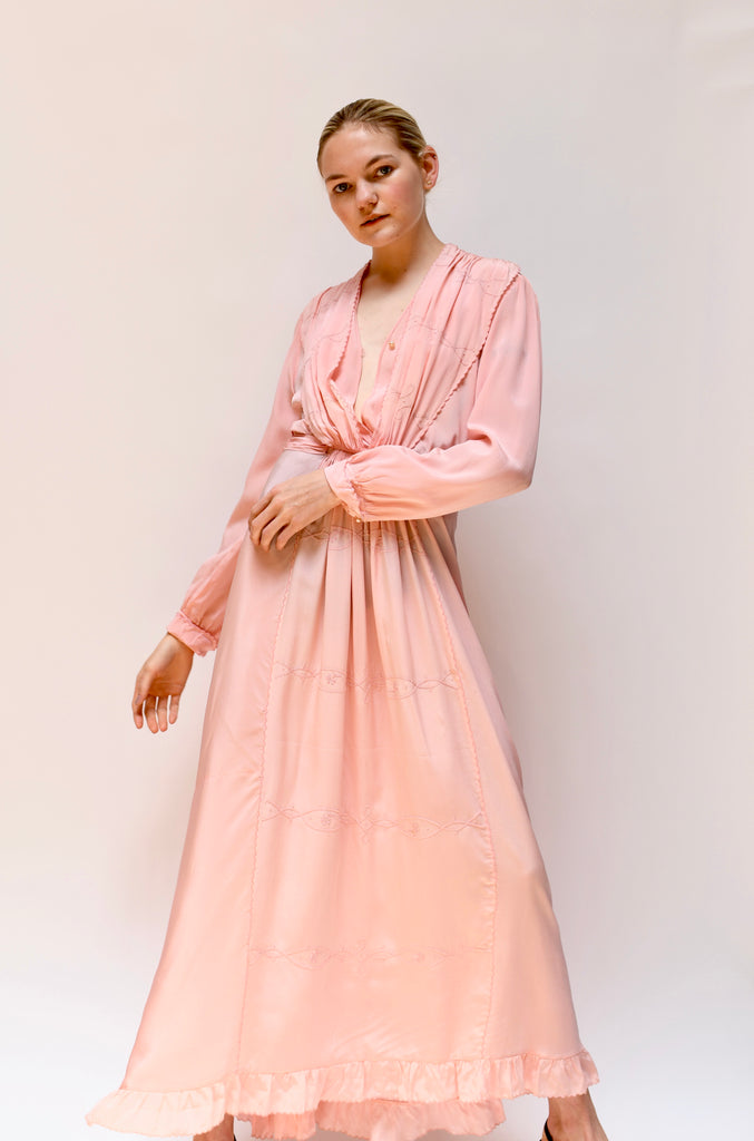 Edwardian Pink Summer Dress