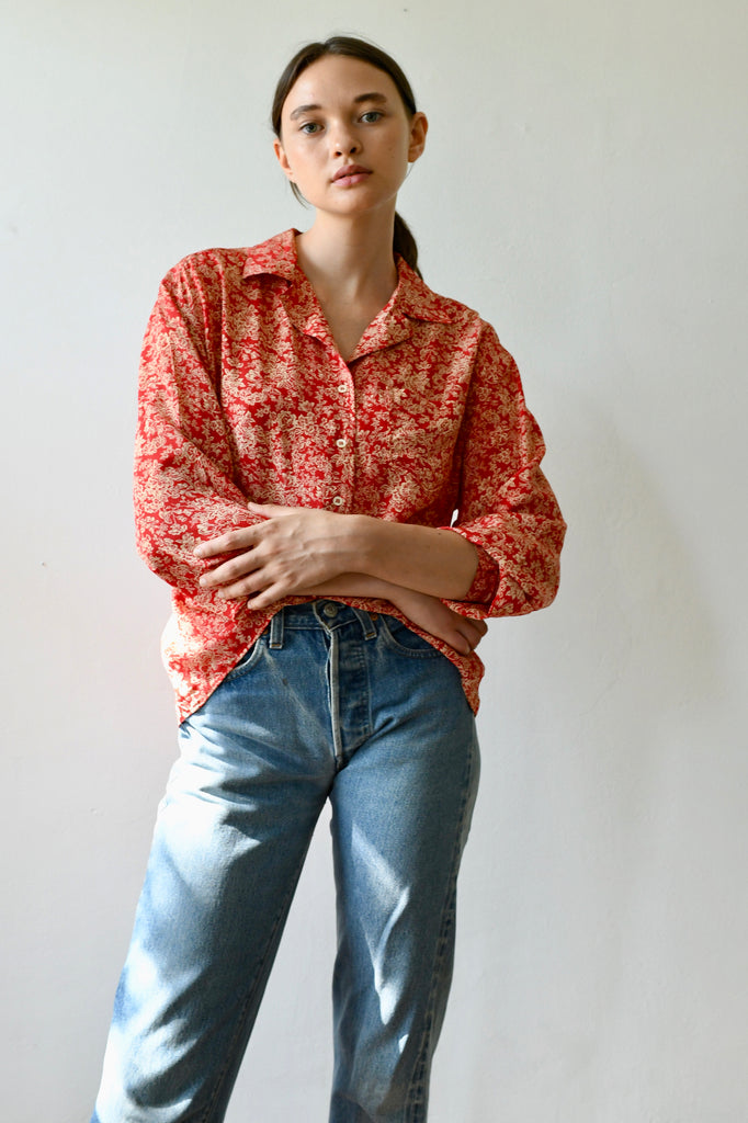 Vintage Cacharel Silk Blouse