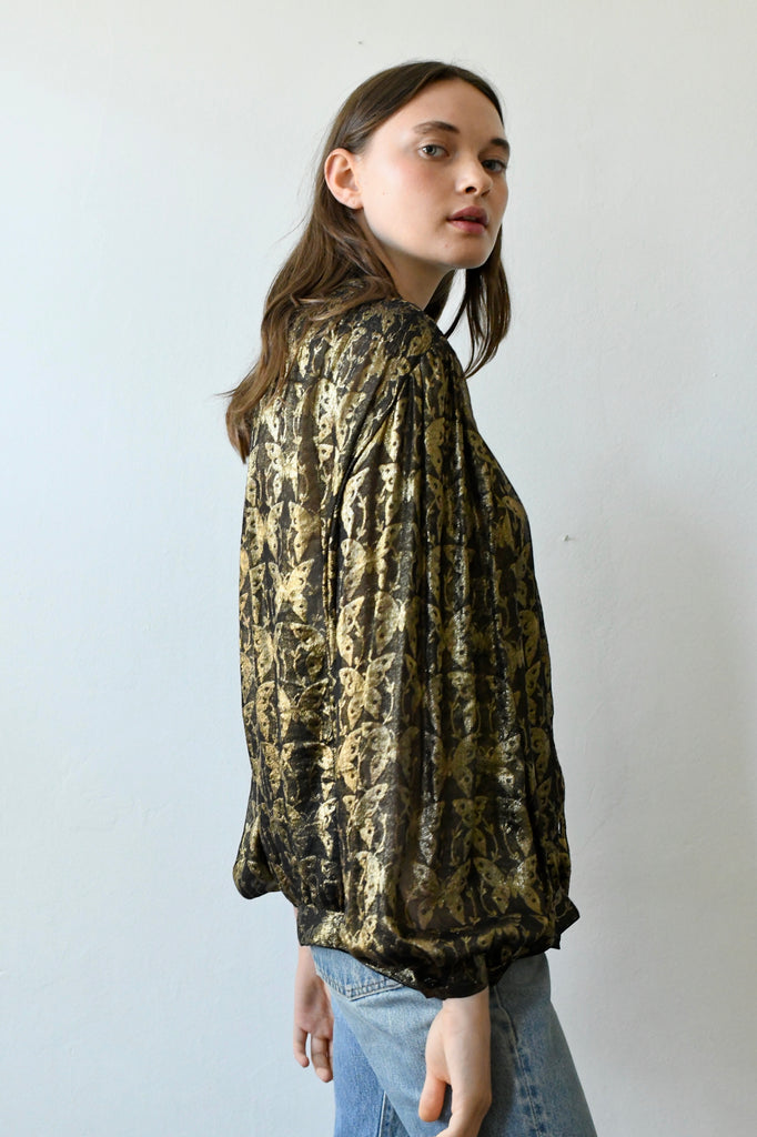 Vintage Valentino Couture Blouse