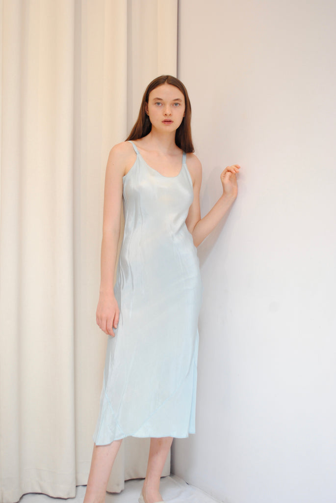 1930's Powder Blue Dress