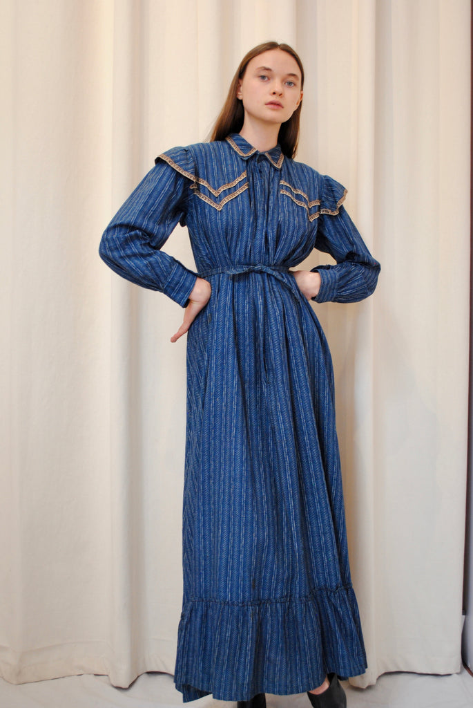 Antique Calico Dress