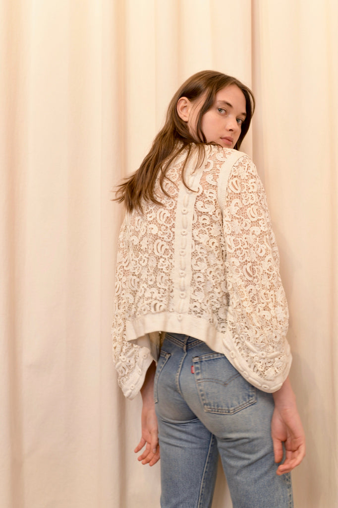 Antique Lace Jacket