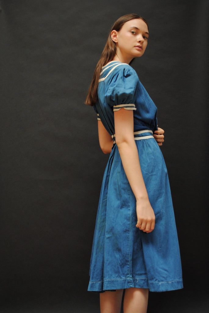 Antique Indigo Dress