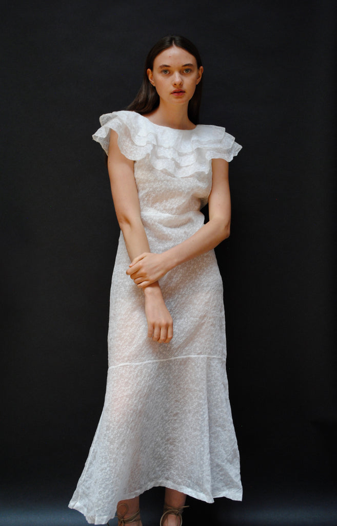 1930's Organdy Dress