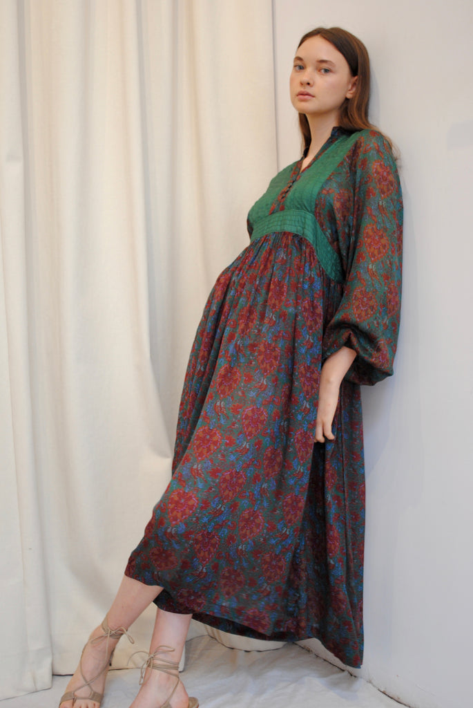 Silk Day Dress