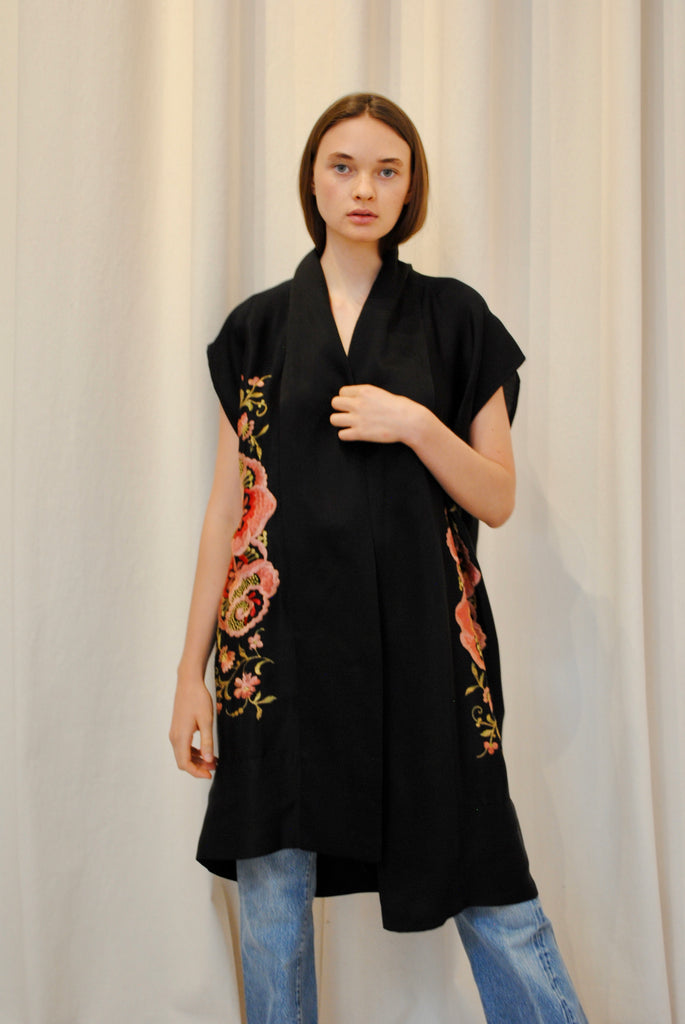 Embroidered Antique Kimono