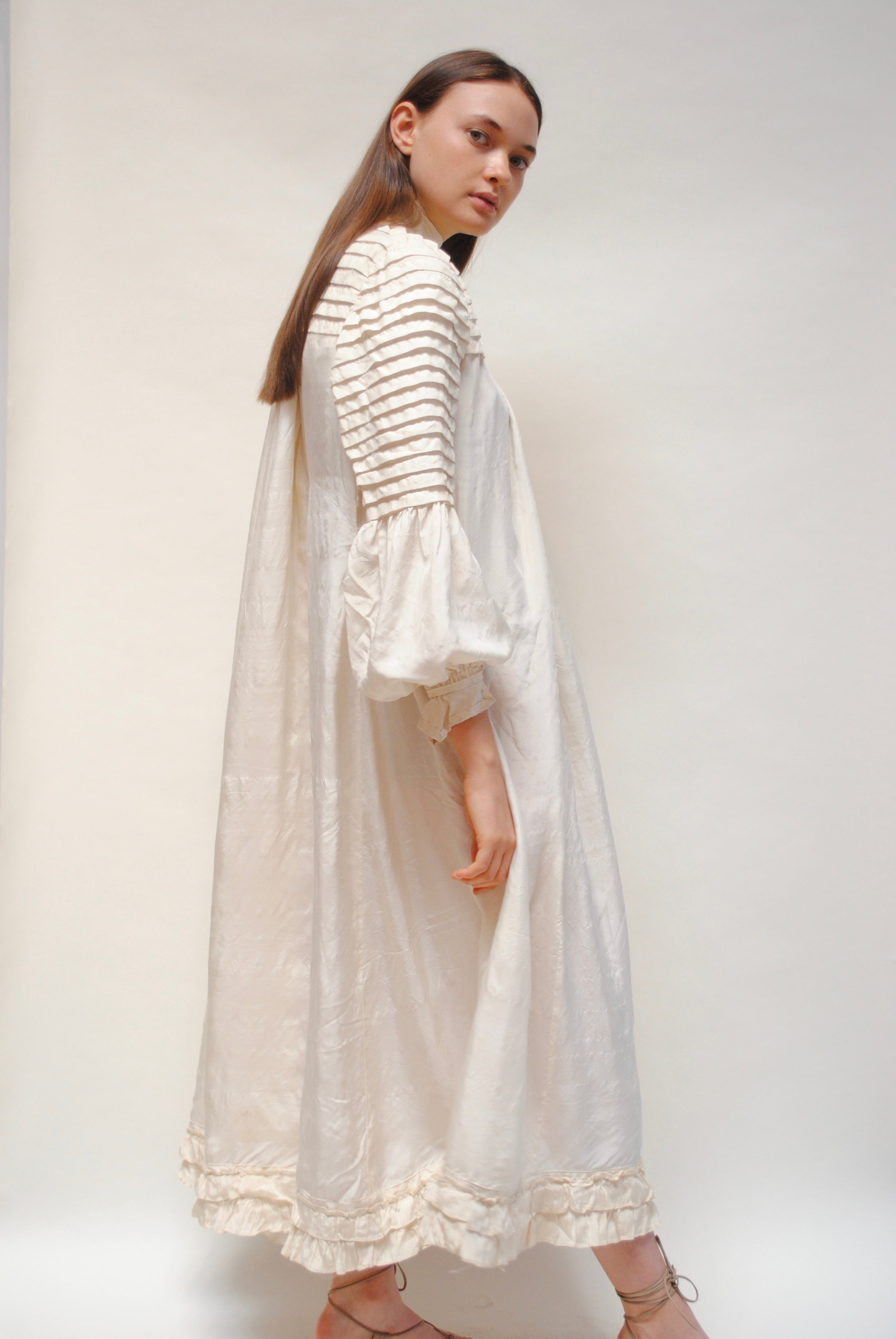 Antique Pleated Dress