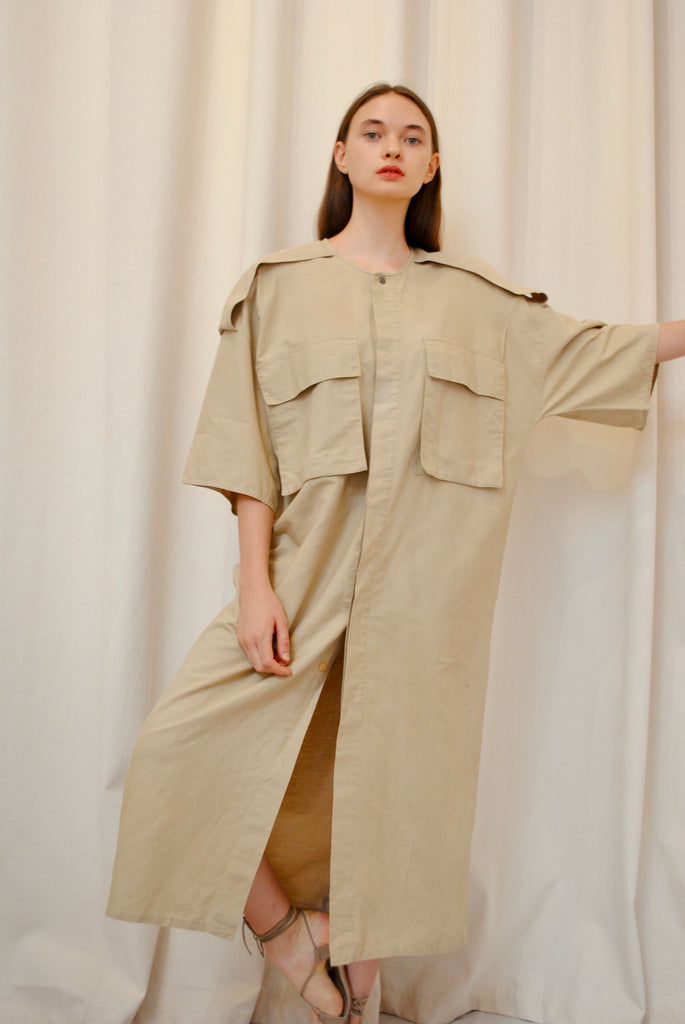 Khaki Day Dress