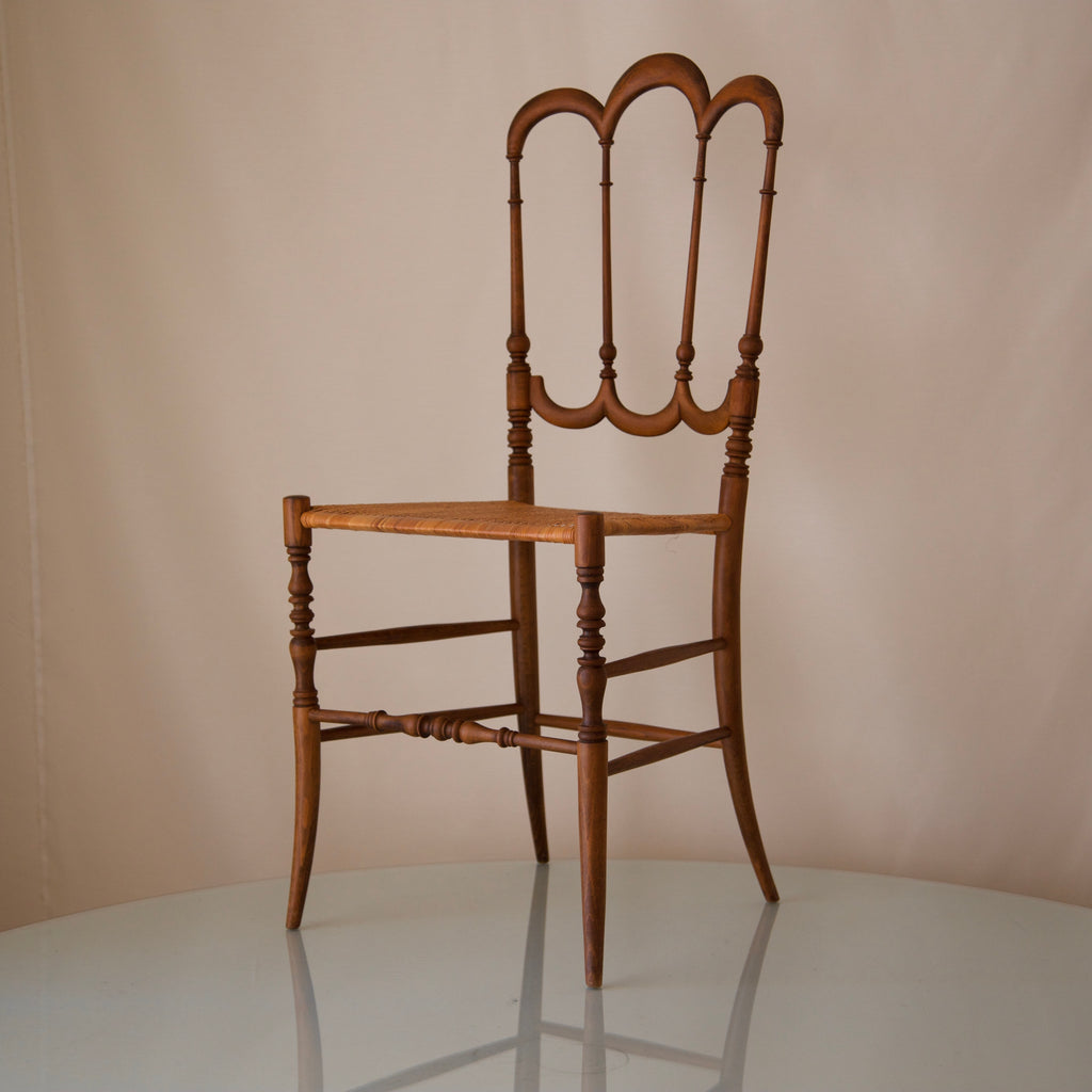"Early 20th Century Chiavari ""Tri-arch"" Chair"