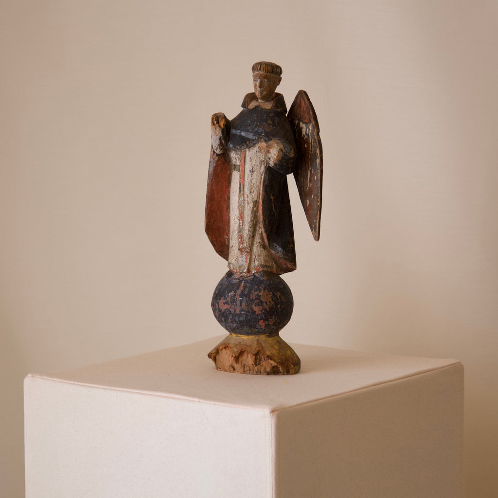Early 20th Century Santo Sculpture