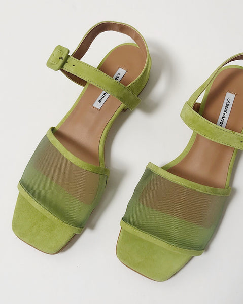 About Arianne Marini Mesh Green Sandal
