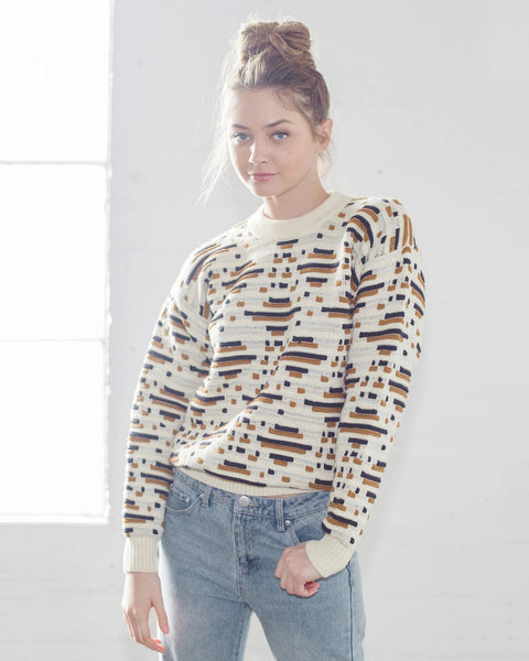 Callahan Abstract Sweater Front