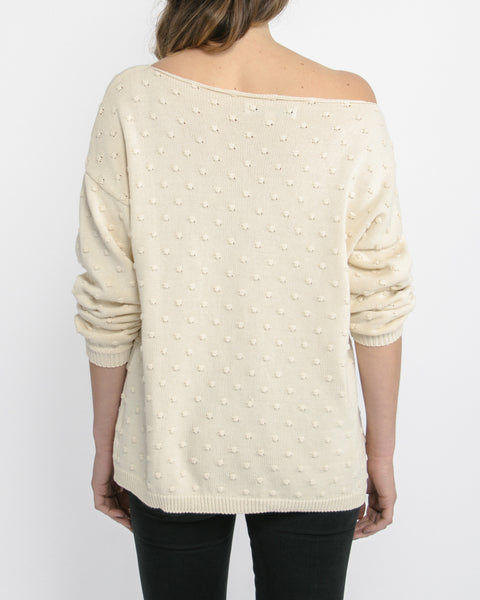 Callahan Off The Shoulder Sweater Back