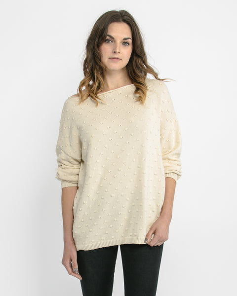 Callahan Off The Shoulder Sweater Front