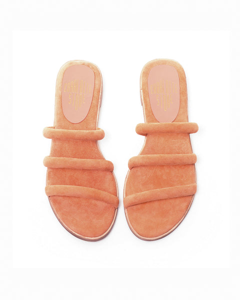 Bruna Sandals in Terracotta