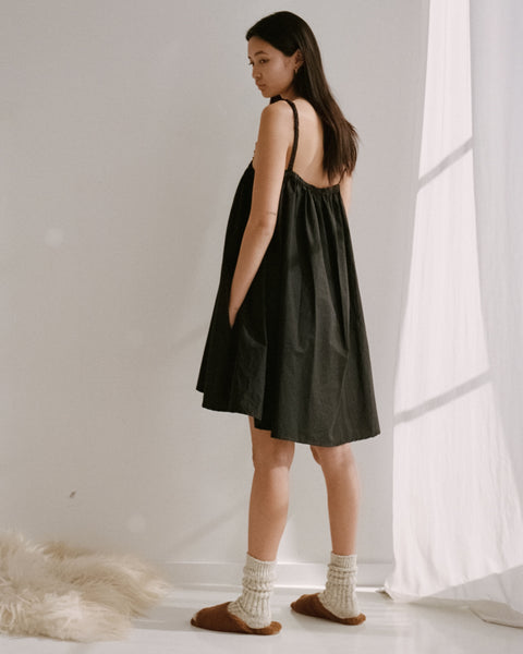 Deiji Studios Skirt Dress in Black