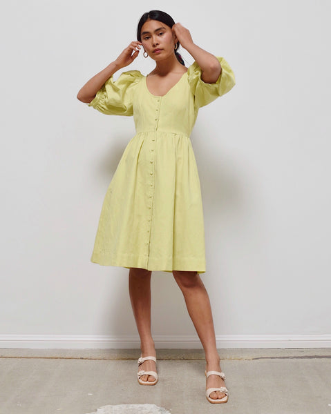 Hannah Kristina Metz Citron Emma Dress