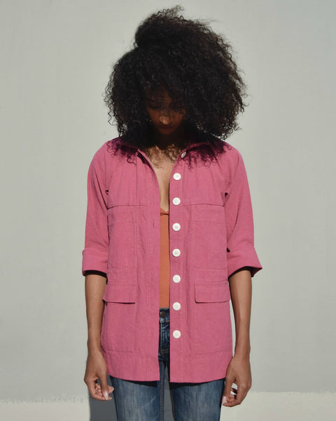 Ilana Kohn Mabel Jacket in Rose