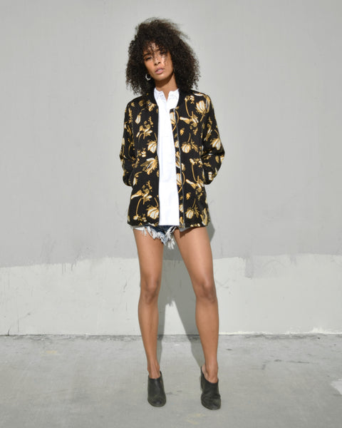 Just Female Elay Bomber Jacket FUGGIAMO