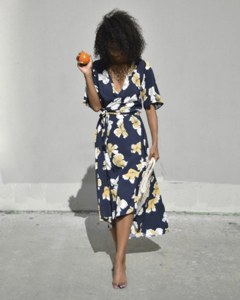 Nolita Dress in Navy