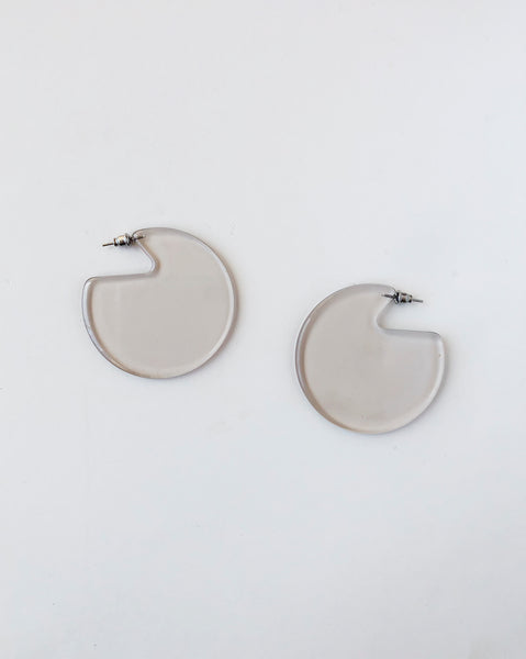 Machete Clare Earrings in Lucite