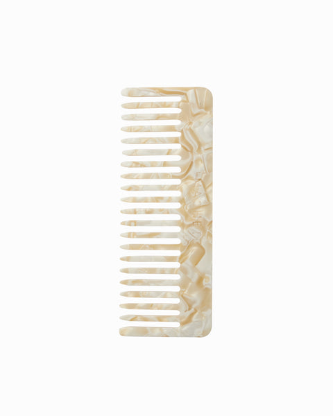 Machete No 2 Comb in Ivory Acetate
