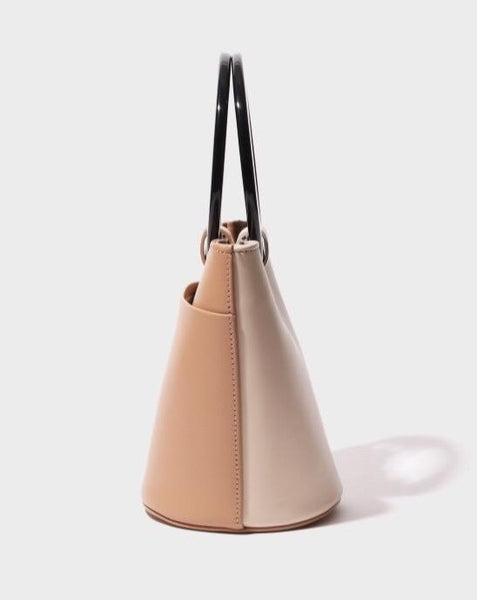 Mini Circle Bucket Bag