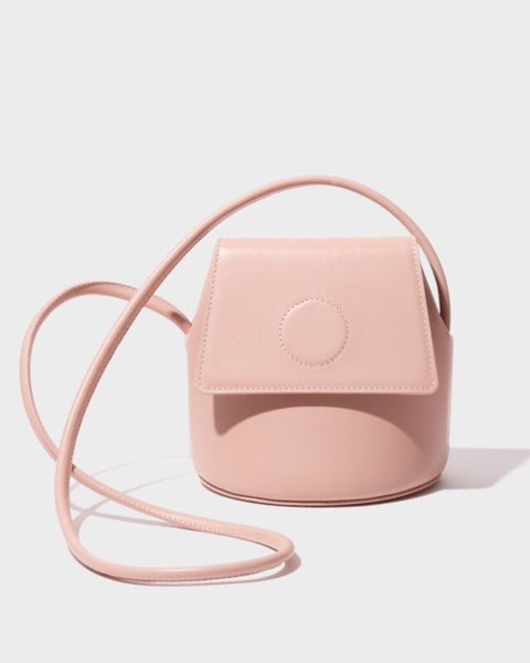 Petite Trapeze Bag in Blush