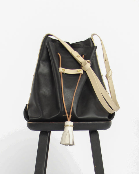 My Deer Fox Bucket Bag Black