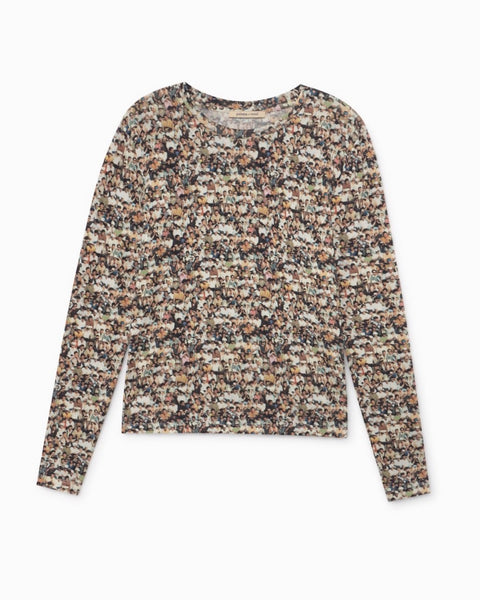 Paloma Wool Cancun People Print Long Sleeve Top
