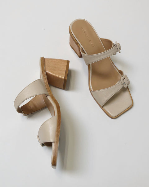 Feria Heel in Cream