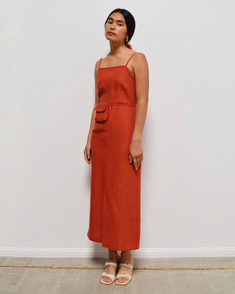 Paloma Wool Museo Dress in Red