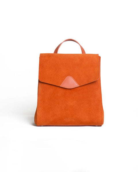 Vere Verto FUGGIAMO Mini Macta Backpack in Burn Suede