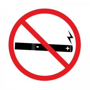 Electronic Cigarettes Banned