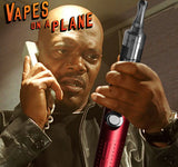 vaping on a plane