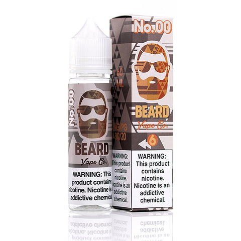 No. 00 - Beard Vape Co. E-Juice (60 ml)